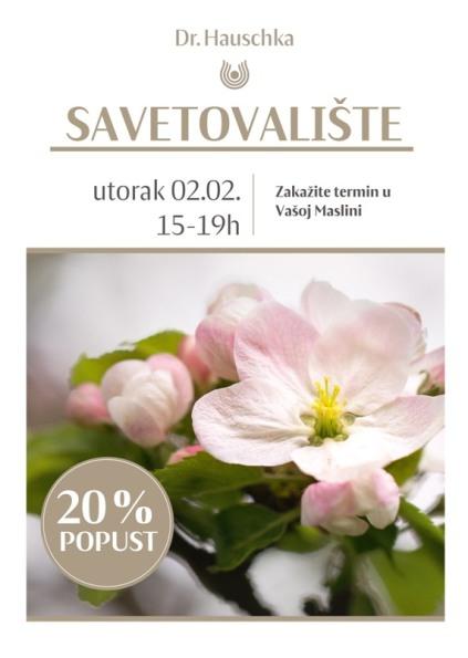 POPUST 20% NA DR.HAUSCHKA KOZMETIKU