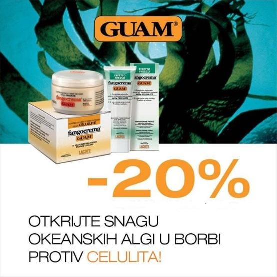 GUAM AKCIJA -20% POPUSTA