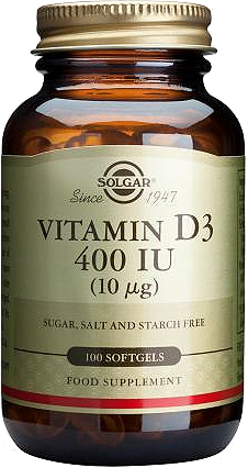 Prirodni vitamin D3 iz ulja riblje jetre Solgar 100 kapsula