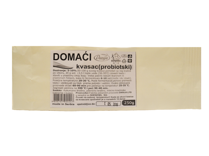 Domaći probiotski kvasac Shenemil 250g
