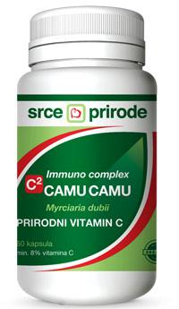 Camu camu C2  prirodni vitamin C Srce prirode 60 kapsula 300mg