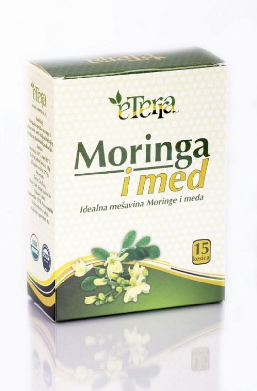 Moringa sa medom Eterra 15x18g kesica 270g