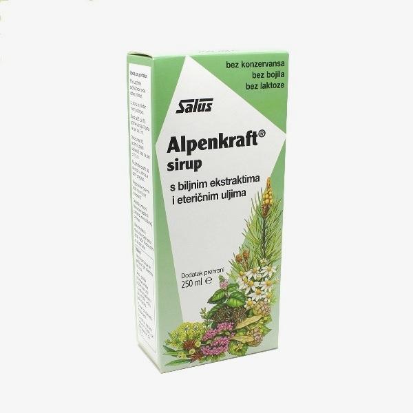 Alpenkraft sirup protiv kašlja sa biljnim ekstraktima Salus 250ml