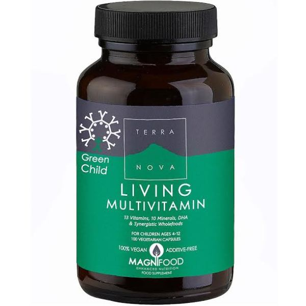 Terra Nova Green child living multinutrienti kompleks vitamina i minerala 50 kapsula