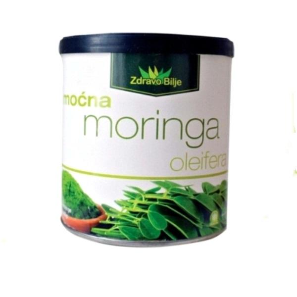 Moćna Moringa Oleifera u prahu organska Zdravo bilje 90g