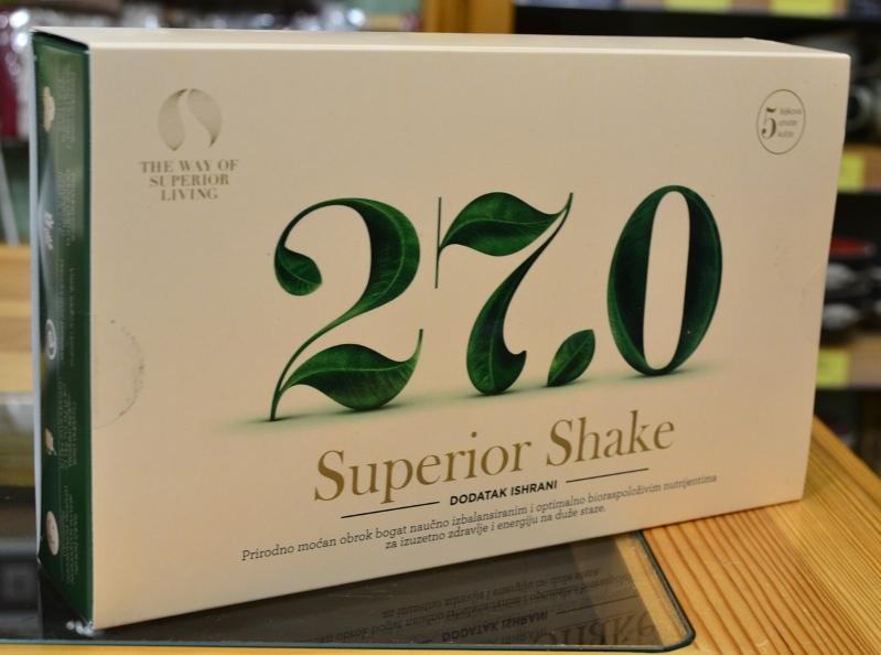 27.0 Superior shake dodatak ishrani 250g - 5 obroka