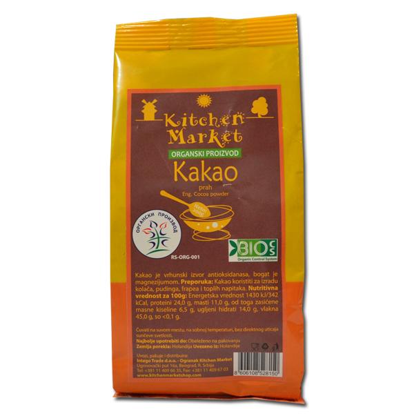 Organski kakao prah Kitchen Market 200g