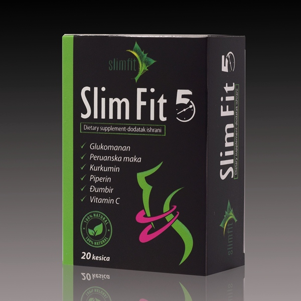 Slim Fit 5 -  20 kesica 60g