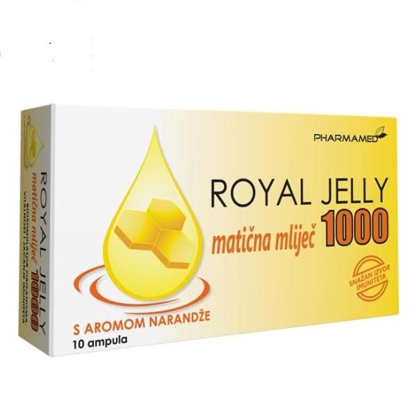 Matična mleč sa aromom narandže Royal Jelly ampula 10ml
